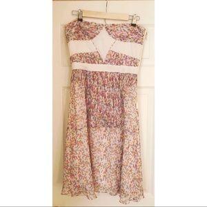 NWOT Abaeté, 100% Silk Dress, Size 10 👗👛✨